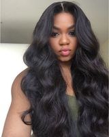 "24"" Wavy Wigs For African American Women The Same As The Hairstyle In The Picture"