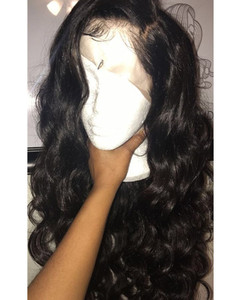 "24"" Long Wavy Wigs For African American Women The Same As The Hairstyle In The Picture"