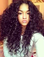 "20"" Kinky Curly Wigs For African American Women The Same As The Hairstyle In The Picture"