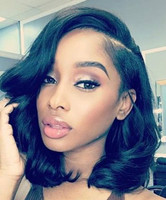"14"" Wavy Wigs For African American Women The Same As The Hairstyle In The Picture"