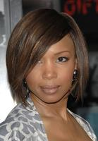 "10"" Bob With Bangs Wigs For African American Women The Same As The Hairstyle In The Picture"