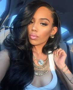 24 Inch Wavy Long Wigs For African American Women The Same As The Hairstyle In The Picture bi
