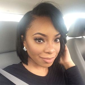 12 Inch Bob Wigs For African American Women The Same As The Hairstyle In The Picture fx