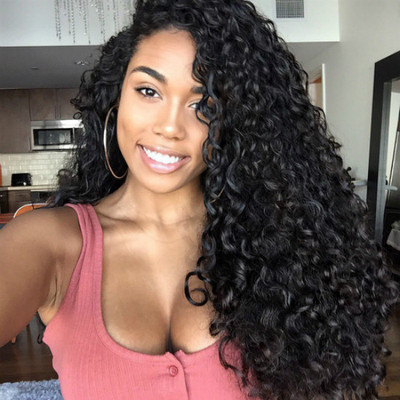 24 Inch Curly Wigs For African American Women The Same As The Hairstyle In The Picture oz