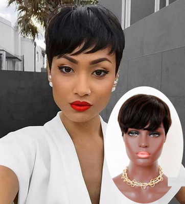 6 Inch Short Wigs For African American Women The Same As The Hairstyle In The Picture lv