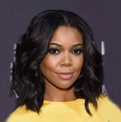 14 Inch Wavy Medium Wigs For African American Women The Same As The Hairstyle In The Picture ou