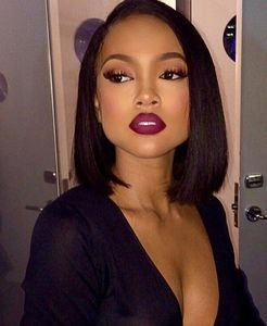 12 Inch Bob Wigs For African American Women The Same As The Hairstyle In The Picture fu