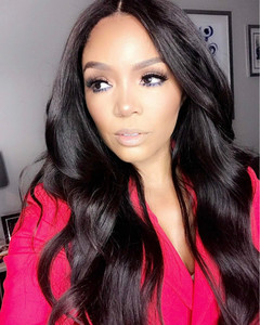 24 Inch Wavy Long Wigs For African American Women The Same As The Hairstyle In Picture bh