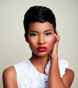 6 Inch Short Wigs For African American Women The Same As The Hairstyle In The Picture no
