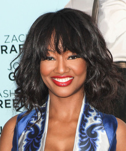 12 Inch Wavy With Bangs Wigs For African American Women The Same As The Hairstyle In The Picture