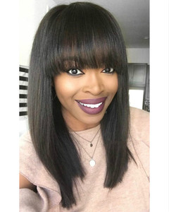 12 Inch Bob Wigs For African American Women The Same As The Hairstyle In The Picture nc
