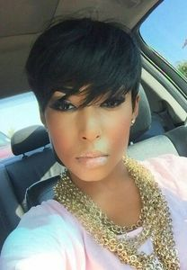 6 Inch Short Wigs For African American Women The Same As The Hairstyle In The Picture mg