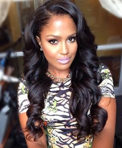 22 Inch Wavy Long Wigs For African American Women The Same As The Hairstyle In The Picture mq
