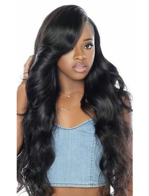 24 Inch Wavy Wigs For African American Women The Same As The Hairstyle In The Picture fi