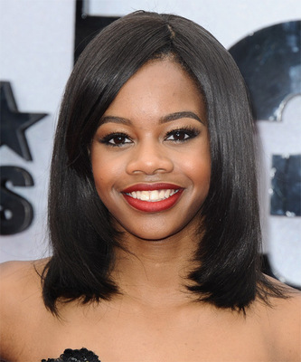 12 Inch Straight Bob Wigs For African American Women The Same As The Hairstyle In The Picture ct