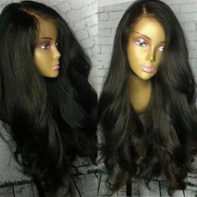 24 Inch Wavy Wigs For African American Women The Same As The Hairstyle In The Picture