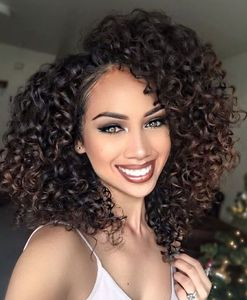 14 Inch Curly Wigs For African American Women The Same As The Hairstyle In The Picture as