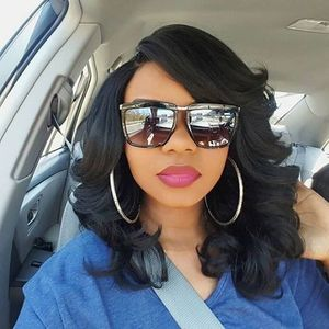 14 Inch Wavy Wigs For African American Women The Same As The Hairstyle In The Picture ch