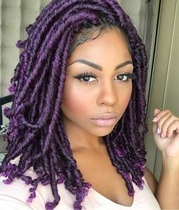 "14"" Braided Wigs Lace Front Wigs For Women The Same As The Hairstyle In The Picture"