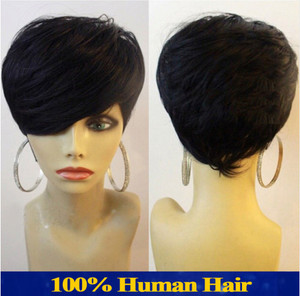 6 Inch Short Wigs For African American Women The Same As The Hairstyle In The Picture ps