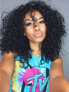 14 Inch Kinky Curly Wigs For African American Women The Same As The Hairstyle In The Picture oq