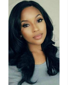 20 Inch Wavy Long Wigs For African American Women The Same As The Hairstyle In The Picture be