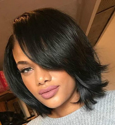 10 Inch Short Wigs For African American Women The Same As The Hairstyle In The Picture er