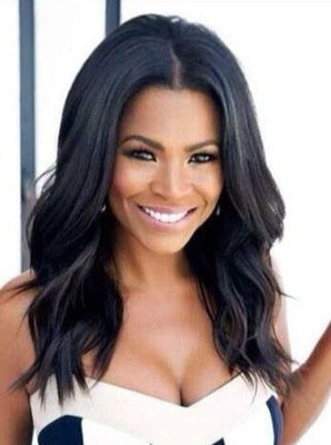 14 Inch Wavy Wigs For African American Women The Same As The Hairstyle In The Picture hi