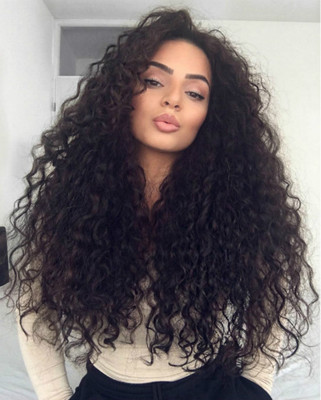 24 Inch Curly Wigs For African American Women The Same As The Hairstyle In The Picture