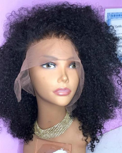 14 Inch Curly Wigs For African American Women The Same As The Hairstyle In The Picture aq